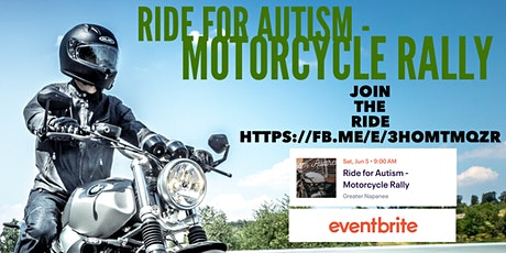 Ride for Autism - Motorcycle Rally tickets