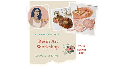 Resin Art Workshop tickets