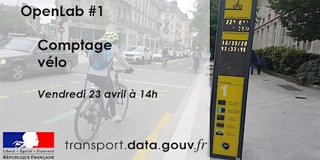 OpenLab Données de comptage vélos #1 tickets