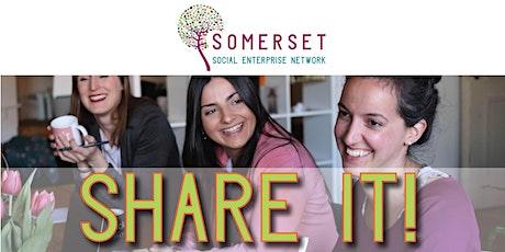 SHARE IT!  Networking for Somerset Social Enterprises boletos
