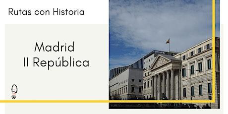 Madrid II República entradas