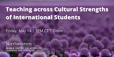 Teaching across Cultural Strengths of International Students tickets