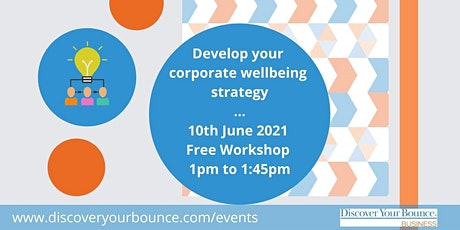 Create an Effective Corporate Wellbeing Strategy tickets