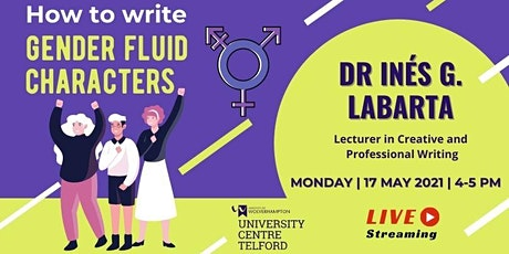 How to write gender fluid characters tickets