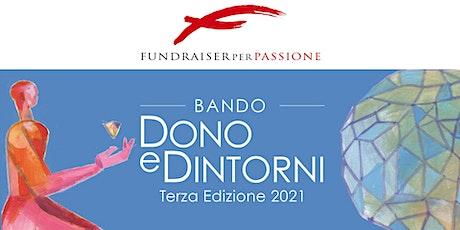 Webinar Bando Dono e Dintorni 2021 biglietti