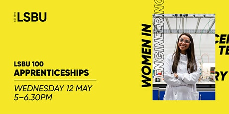 LSBU 100 - Apprenticeships tickets