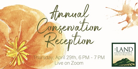 Annual Conservation Reception: Land Conservancy SLO tickets