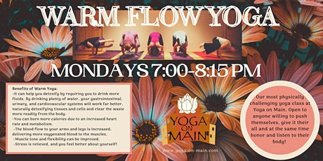 Warm Flow Yoga with Kelly tickets