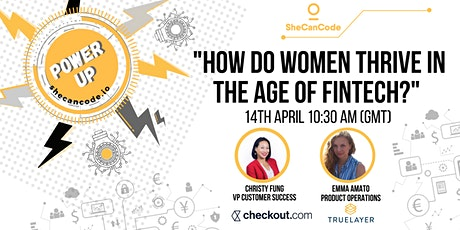 How do women thrive in the age of Fintech? tickets