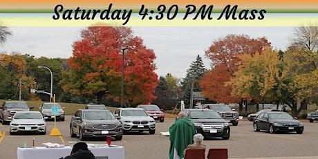 SATURDAY 4:30 PM Parish Center Mass tickets