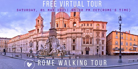 ROME: Free Virtual Walking Tour tickets