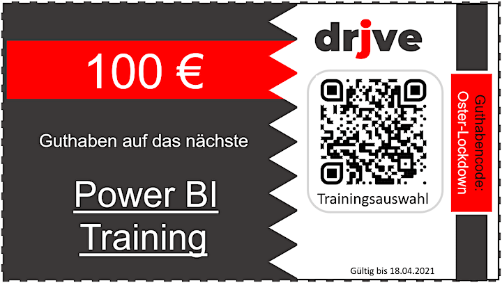 drjve-IN: Power BI - Visualisierung in 240 Minuten: Bild