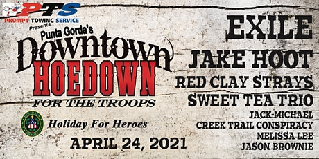 Punta Gorda Downtown Hoedown to support the Troops! tickets