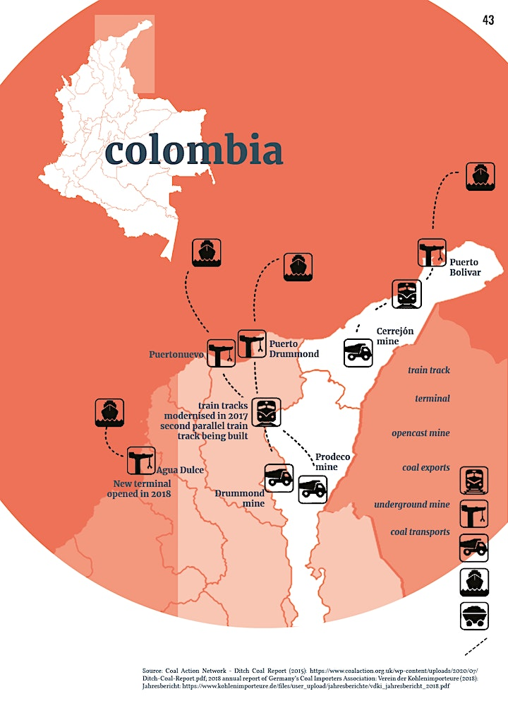 Coal and resistance in Colombia–a critical perspective of a local activist image