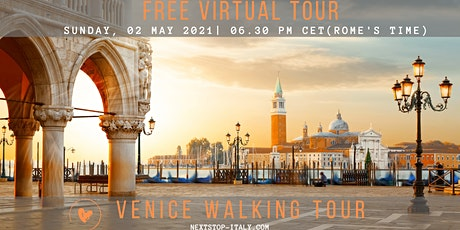VENICE: Free Virtual Walking Tour tickets