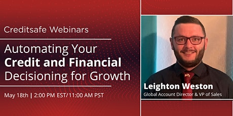 Webinar: Automating Your Credit and Financial Decisioning for Growth tickets