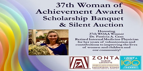 Zonta's 37th Annual Woman of Achievement Award and Scholarship Banquet tickets