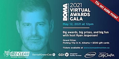 BOMA Edmonton 2021 Virtual Awards Gala tickets