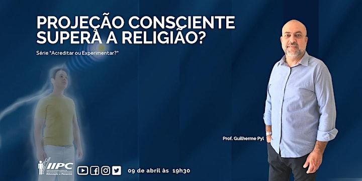 Imagem do evento Live - Projeção Consciente Supera a Religião?