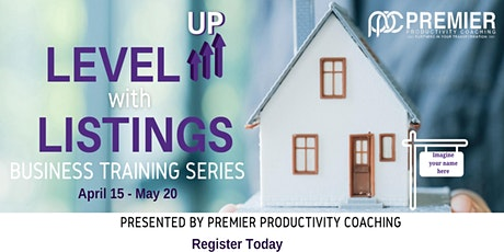 Level UP with Listings tickets