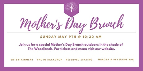 Mother's Day at The Woodlands (morning seating) tickets