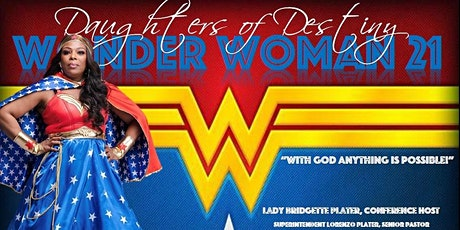 Wonder Woman 21 Conference tickets