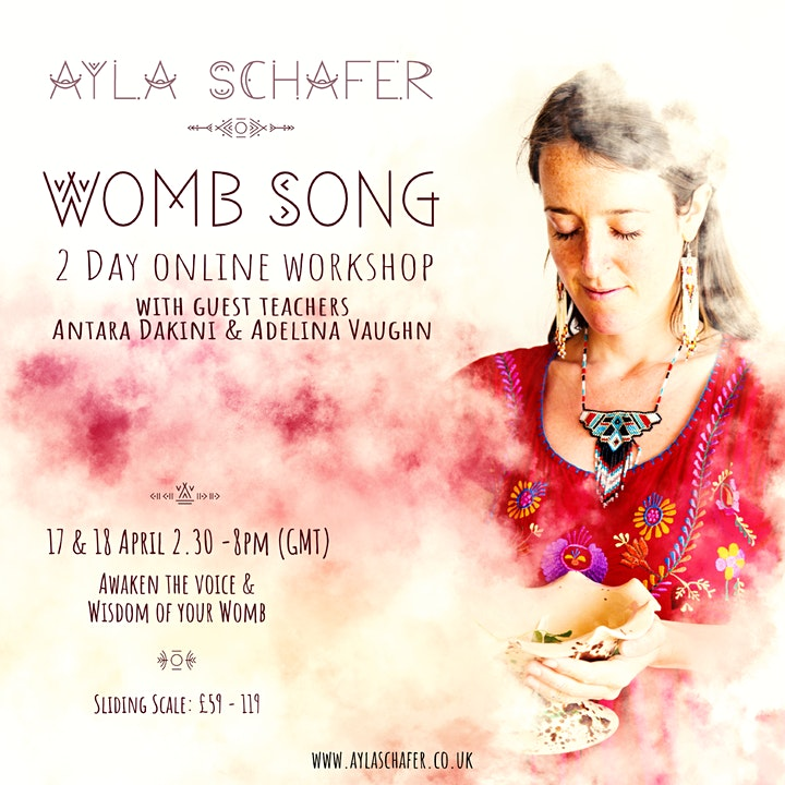 'Womb Song' - 2 day Online Workshop image