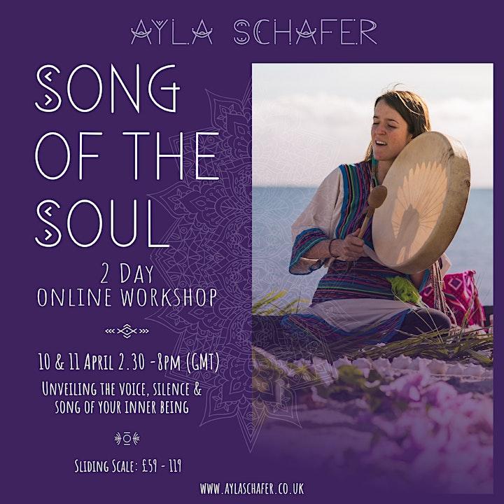 'Song of the Soul' 2 day Online Workshop - Ayla Schafer image