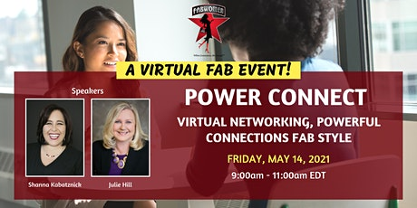 Power Connect – Virtual Networking, Powerful Connections FAB Style tickets