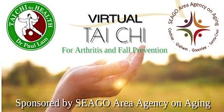 Virtual Tai Chi  for Arthritis  and Fall Prevention with Ann & Bill Peschka tickets