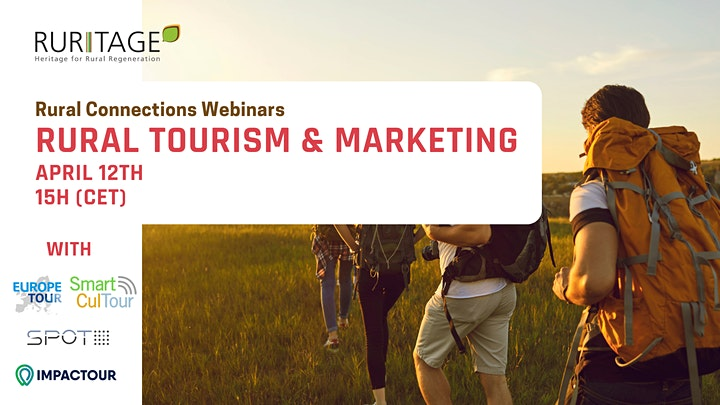 Rural Connections Webinar #1 Rural tourism and marketing image