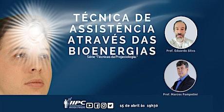Live - Técnica de Assistência através das Bioenergias ingressos