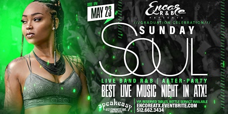 Sunday Soul: Live Band  & After-Party   5/23 tickets