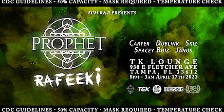 Prophet & RAfeeki live in Tampa tickets