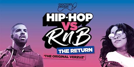 Hip-Hop vs RnB - THE RETURN! tickets