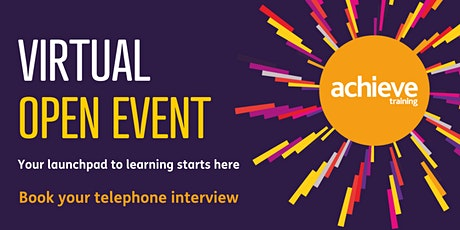 Achieve Training - Open Event for school leavers and future apprentices tickets