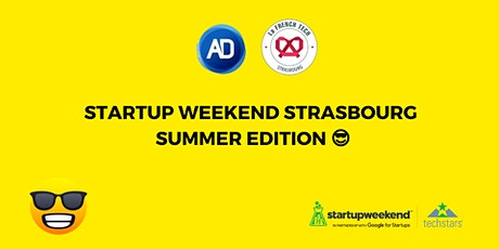 Startup Weekend Strasbourg 2021 - Edition Summer billets