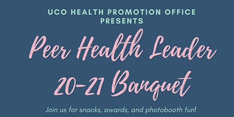 20-21 Peer Health Leader Banquet tickets