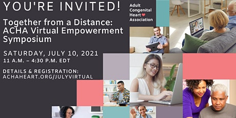 Together From a Distance: ACHA Virtual Empowerment Symposium tickets