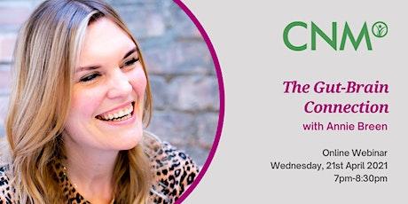 CNM Ireland:  Online Health Talk - Gut-Brain Connection tickets