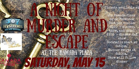 A Night of Murder and Escape tickets