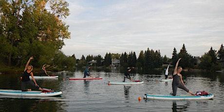 BYOB SUP Yoga at the Lake 2021 tickets
