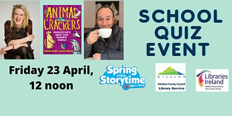 The Monster Book Quiz for Schools with Sarah Webb and Alan Nolan tickets