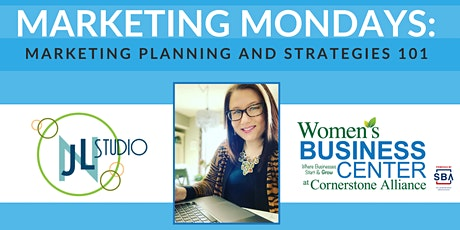 Marketing Mondays: Marketing Planning and Strategies 101 tickets
