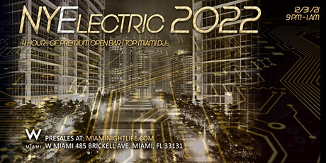 2022 W Hotel Miami New Year's Eve Party tickets