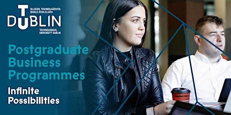 TU Dublin Full-Time Business Postgraduate Information Webinar tickets