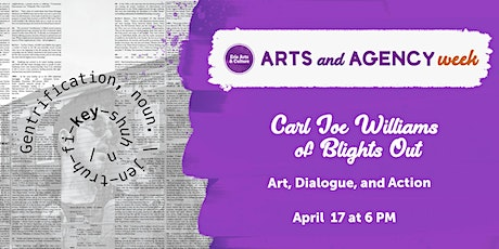 Blights Out: Art, Dialogue, and Action tickets