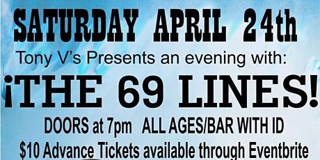 An Evening with 69 LINES tickets