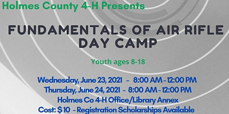 4-H Fundamentals of Air Rifle Day Camp tickets