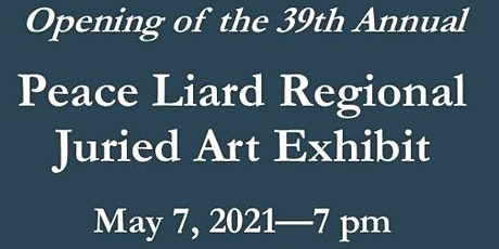 39th Annual Regional Juried Art Exhibit Opening tickets